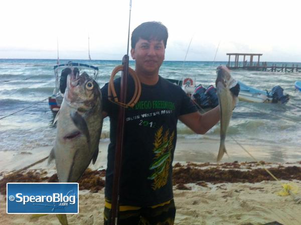Spearfishing Playa del Carmen with SpearfishingToday