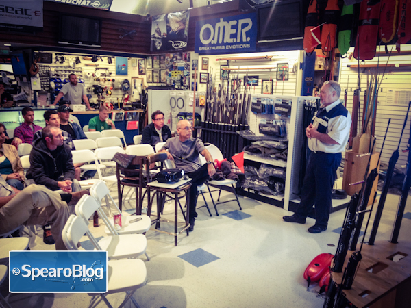 TS 001: Rob Allen Spearfishing Presentation Part 1