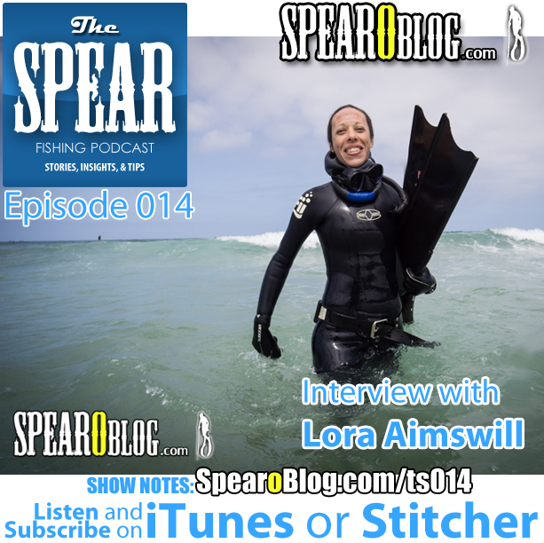 TS 014: Lora Aimswill's Freediving Journey