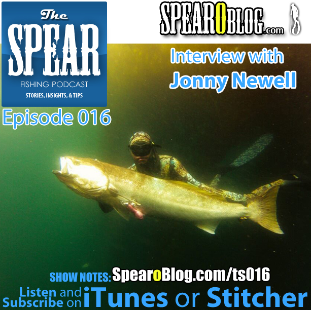 TS 016: Jonny Newell's Spearfishing Journey