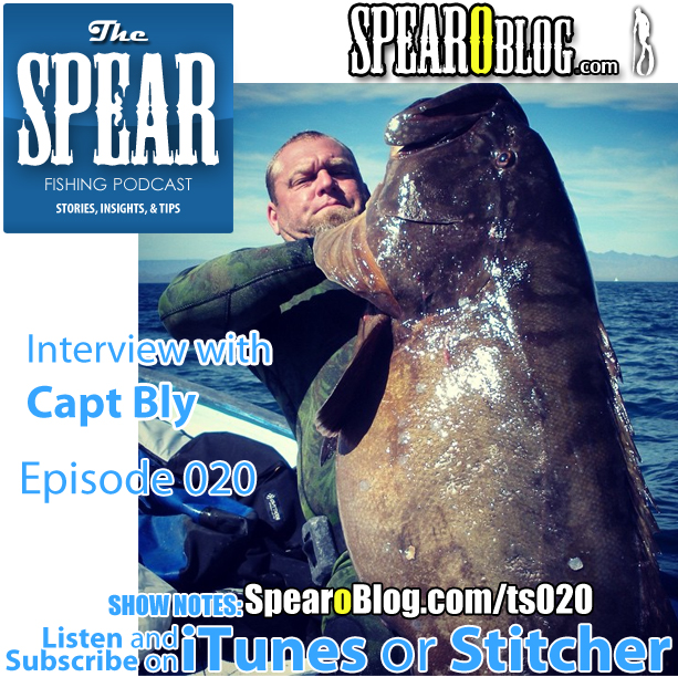 TS 020: Interview with Capt Bly of Capt Bly Spearguns