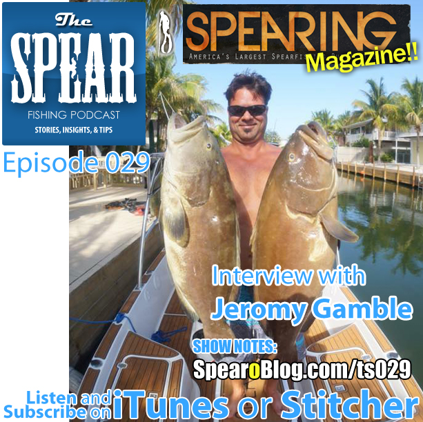 TS 029: Interview with Spearing Magazine Publisher Jeromy Gamble