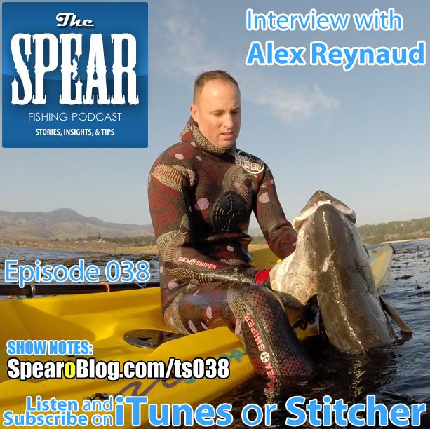 TS 038: Alex Reynaud's Spearfishing Journey