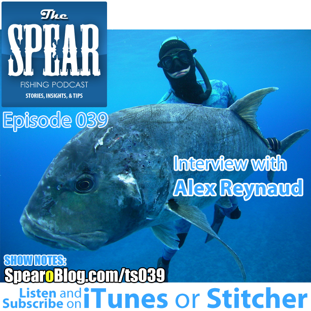 TS 039: Alex Reynaud's Spearfishing Journey Continued