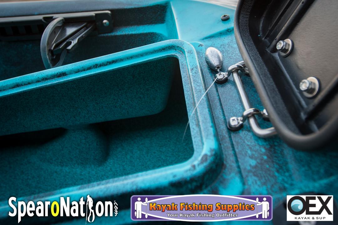 Lowrance Elite 4 CHIRP Kayak Installation (Kraken 13 5