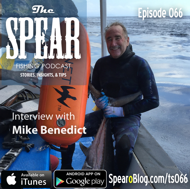 TS 066: Mike Benedict's Spearfishing Journey