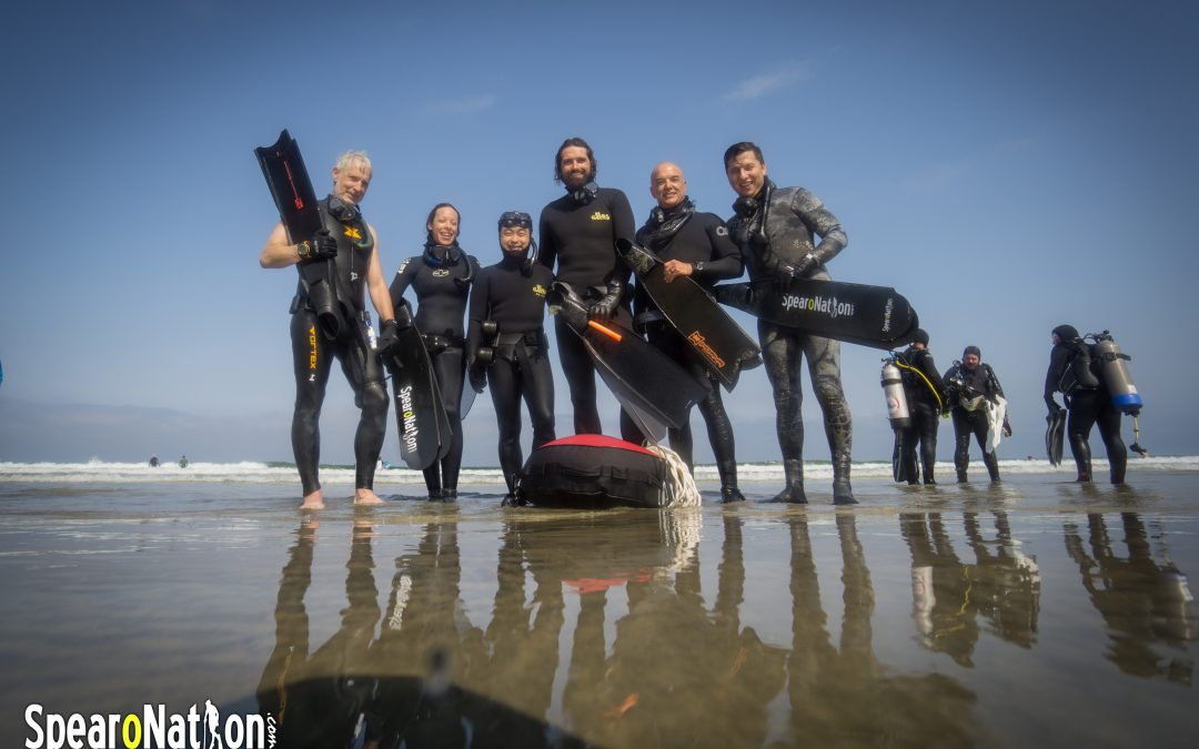 Freedive Training Session at La Jolla Shores 7/30