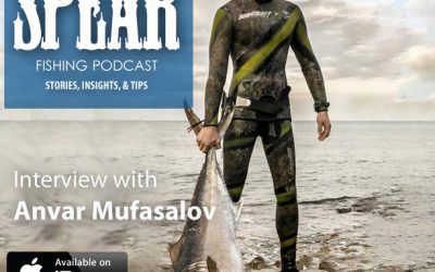 TS 075: Anvar Mufazalov's Spearfishing Journey